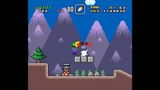 SMW Hack - Luigi's Misadventures: Tsux Namine's Factor (7)