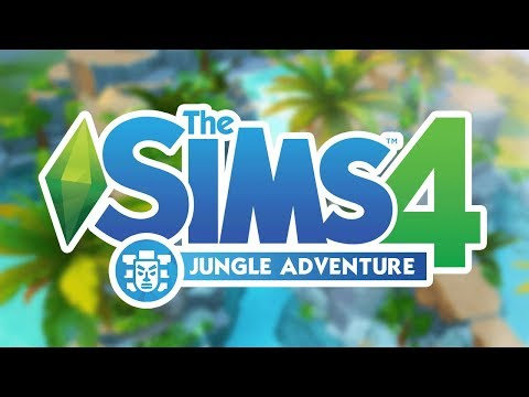 THE SIMS 4 JUNGLE ADVENTURE!  - New Game Pack Leaked