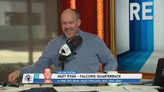 "Attention Rich Eisen: Matt Ryan Is STILL Good with His ""Matty Ice"" Nickname. That Is All. | 11/18/19"