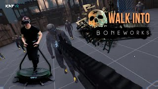 Walk Into Boneworks on KAT Walk C - First Personal VR Treadmill