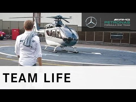 A Day in the Life of F1 driver Nico Rosberg - Can you keep up!?