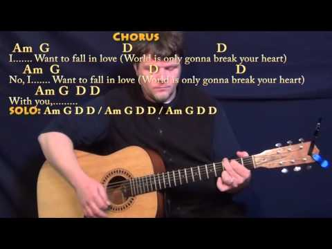 Wicked Game (Chris Isaak) Strum Guitar Cover Lesson in G with Chords/Lyrics