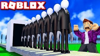 NOUS BUILD THE SLENDERMAN FABRIK IN ROBLOX!