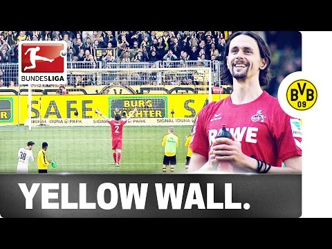 Dortmund Fans Honour Old Boy Subotic