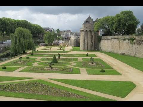 The picturesque villages of Vannes & Josselin in Brittany, France