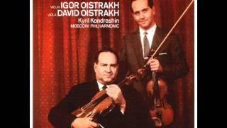 Mozart-Symphonia  Concertante in E-flat Major KV 364 (Complete)