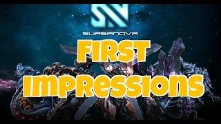 Supernova Gameplay 1 First Impressions | PC edition Beta Version