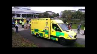 Photo Montage Simulated Road Traffic Collision UCD 04 October 2013 @StopRTAs