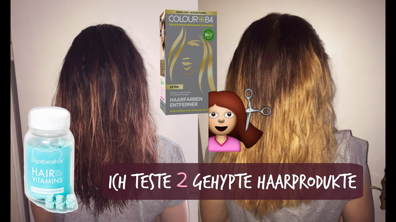 ich teste 2 gehypte Haarprodukte | Sugarbearhair - YouTube