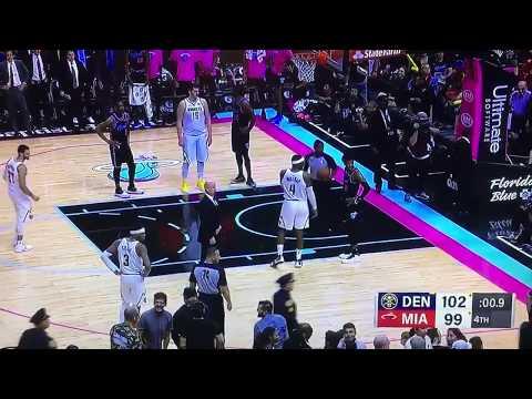 Miami Heat Fan Runs Onto Court And Steals Game Ball *NBA 2019*