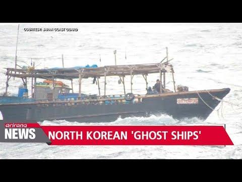 28 North Korean 'ghost ships' found near Japan in November