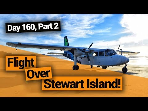 Flight Over Stewart Island –  New Zealand's Biggest Gap Year