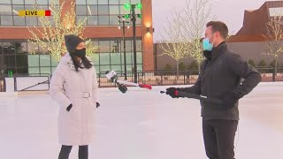 Titletown ice rink opening with enhanced Covid-19 protocols