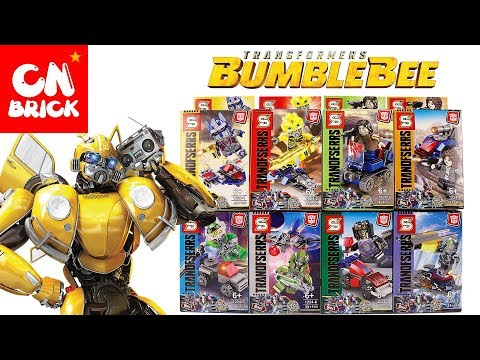 LEGO  TRANSFORMERS BUMBLEBEE 8 IN 1 SY1224 Unofficial LEGO
