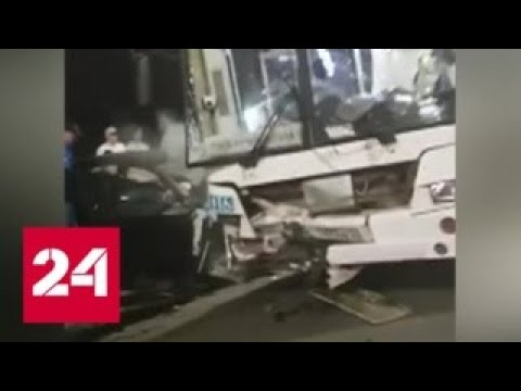 ДТП в Красноярске: один человек погиб, восемь пострадали - Россия 24