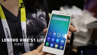 Lenovo Vibe S1 Lite - First Look