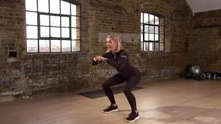 How to do a squat | Jenni Falconer x QVC