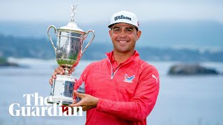 Gary Woodland holds off Koepka and Rose to win first major at US Open