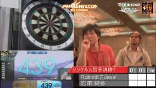 【PHOENIX CUP 鹿児島大会】Roshidi Puasa vs 岩田純弥【男子シングルス決勝トーナメント】