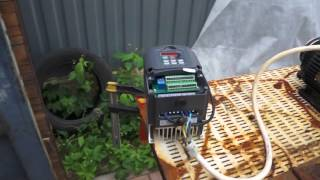 Частотный преобразователь(3 KW частотный преобразователь с редуктором и конусом дровокол . Прототип будущего Дровокола., 2015-11-04T12:50:09.000Z)