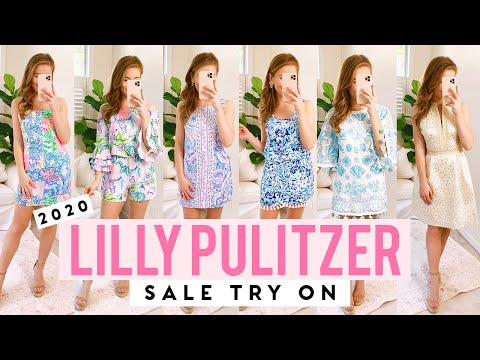TRY ON // 2020 Lilly Pulitzer After Party Sale