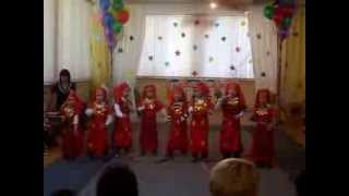 "танец ""Бурановские бабушки"" детский .сад МКНО,танцуют мальчики"