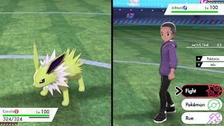 First Pokemon SWSH wifi battle. 6v6