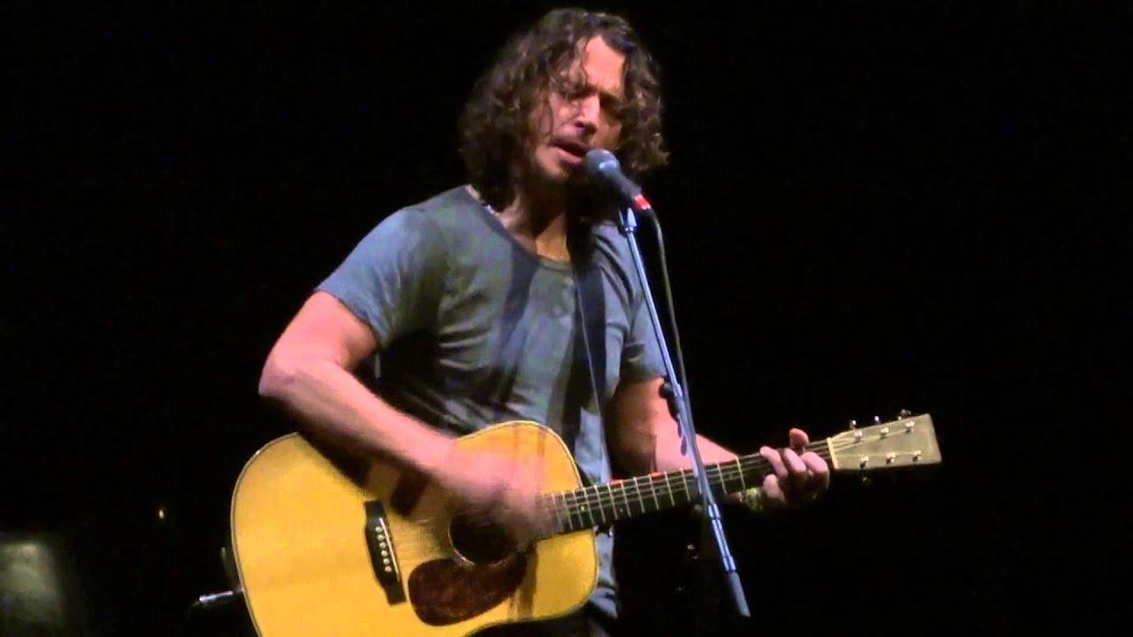 'One (U2 Music with Metallica Lyrics)' Chris Cornell@Santander Arts Center Reading, PA 11/22/13