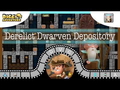 [~Bragi~] #A Derelict Dwarven Depository - Diggy's Adventure