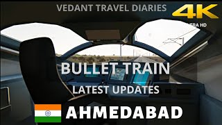 Bullet Train in India Latest Updates 2020 | Sabarmati Station Updates | Vedant Travel Diaries