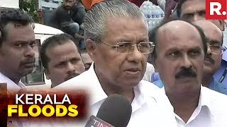 Kerala CM Pinarayi Vijayan Speaks To Media After Conducting Aerial Survey | Kerala Floods 2018