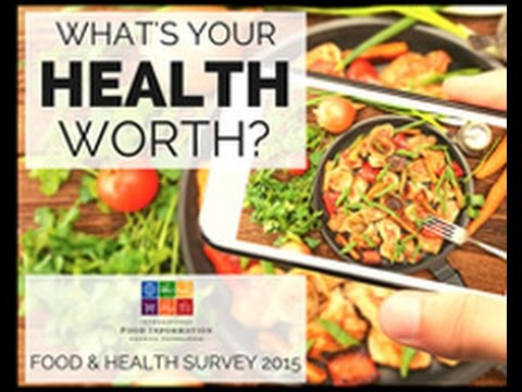 2015 Food & Health Survey webcast for health professionals