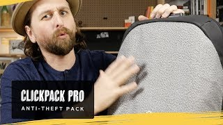 Clickpack Pro Anti-Theft Backpack Review