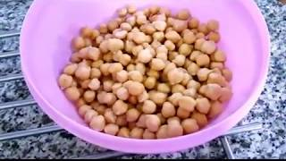 سلق الحمص و استخداماته في الطعام ( تجهيزات رمضانيه)