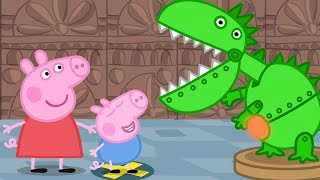 Peppa Pig English Episodes - Peppa and George's Trip to the Museum! - #046 thumbnail