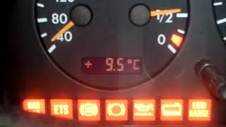 Мерседес   горят лампочки на приборке  часть 1.Mercedes lights on the dash, what should I do? part 1
