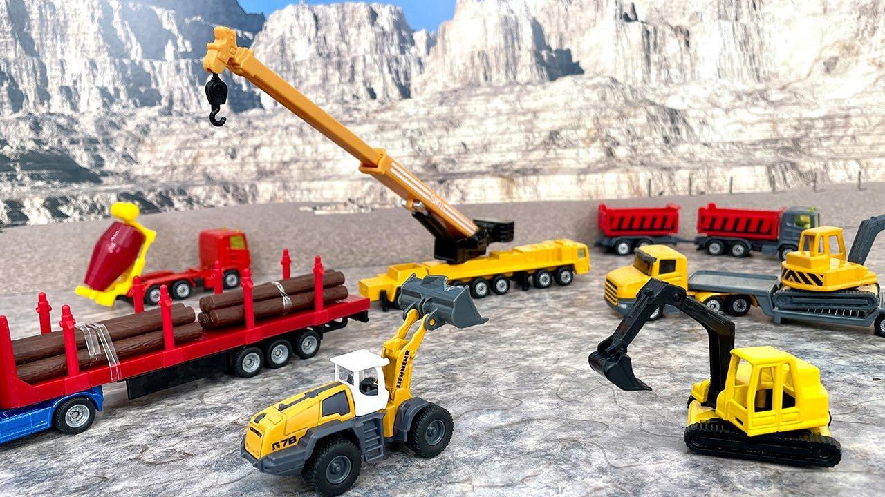 Download SIKUのはたらくくるま!工事車両や農業車両が100台以上!トラックやトレーラー、トラクター、消防車、救急車、パトカーなど