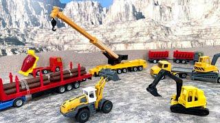 SIKUのはたらくくるま!工事車両や農業車両が100台以上!トラックやトレーラー、トラクター、消防車、救急車、パトカーなど