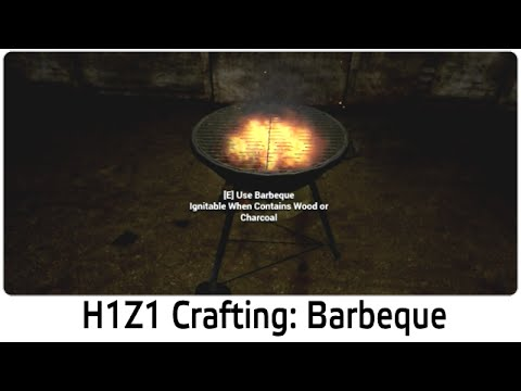 h1z1 crafting barbeque bbq youtube