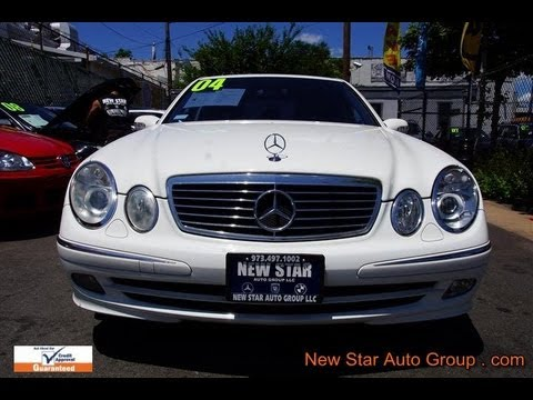 2004 mercedes benz e class e500 sport sedan youtube. Black Bedroom Furniture Sets. Home Design Ideas