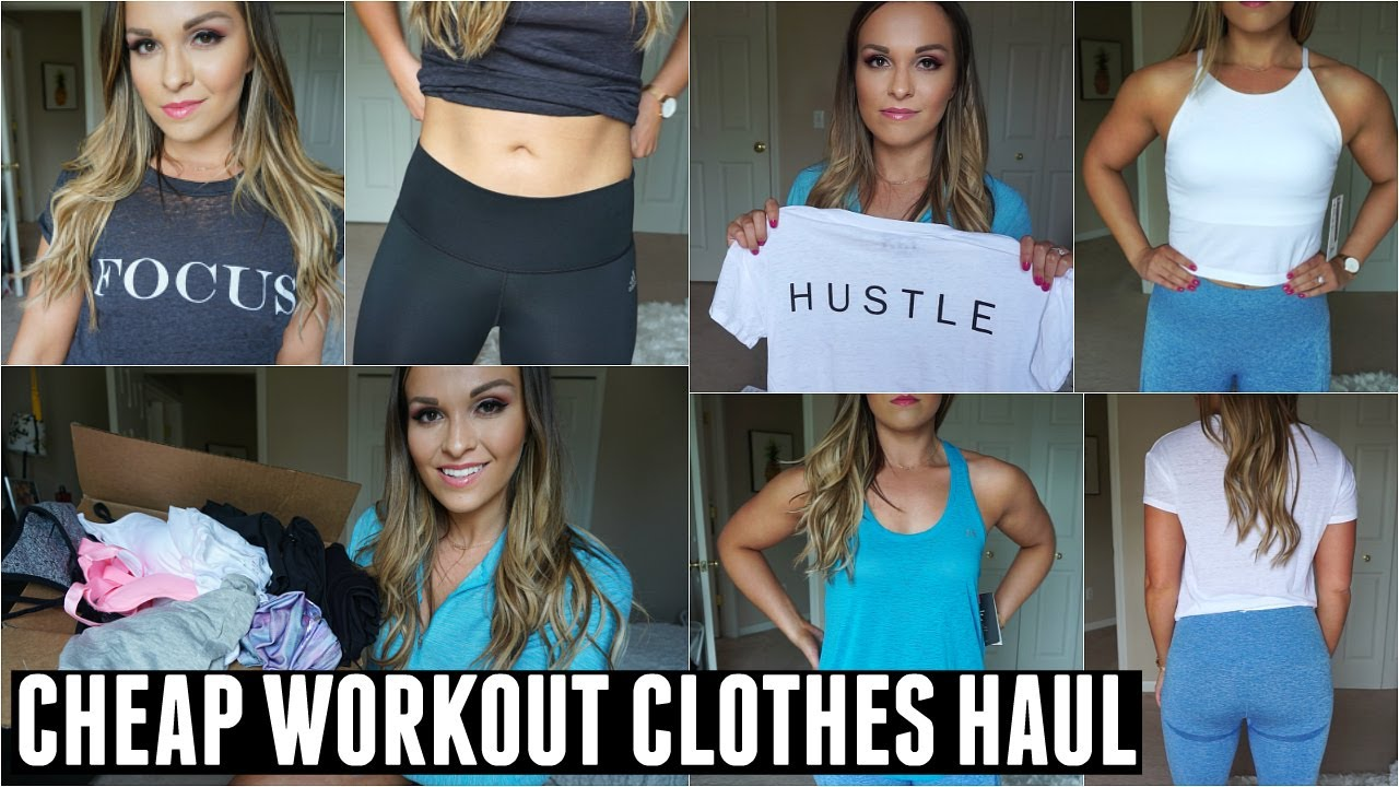 7b461da6c10 AFFORDABLE WORKOUT CLOTHES HAUL   TRY ON