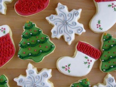 C mo decorar galletas de navidad ideas super f cil youtube - Ideas para decorar en navidad ...