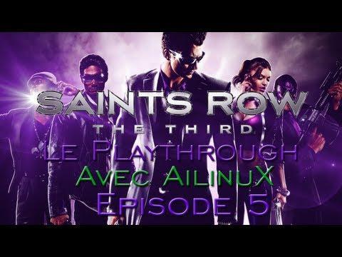 Saints Row - épisode 5 - Le bug de la souris... Et le défi!