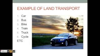 ppt on transportation