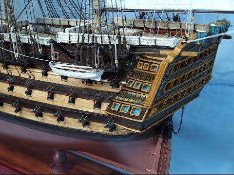Hajó makett készítés