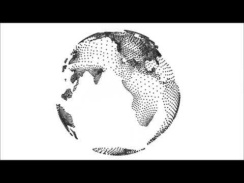 Transparent Earth Globe