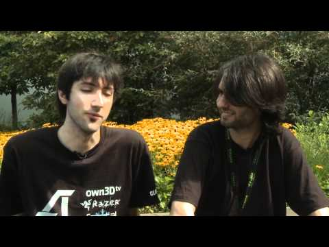 Athene interviews George 'HotshotGG' Georgallidis
