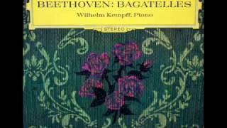 Beethoven / Wilhelm Kempff, 1964: Rondo G-Dur, Op. 51, No. 1 - Moderato e Grazioso