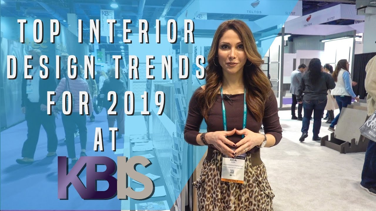 TOP INTERIOR DESIGN TRENDS FOR 2019 | Kitchen & Bath Industry Show Vlog