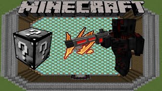 OUTCAST - LUCKY BLOCK SURVIVAL - MINECRAFT 1.12.2 (MODDED MINI-GAME)